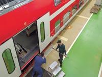 רכבת ישראל, קרונות בומברדייה / צלם: יחצ